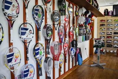 Tienda club de tenis el ejido
