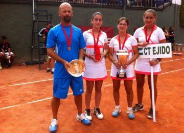 Subcampeonas de España por equipos, INFANTIL FEMENINO