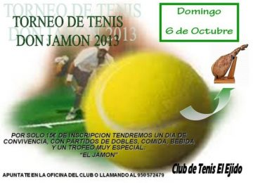 TORNEO DE TENIS DON JAMON 2013