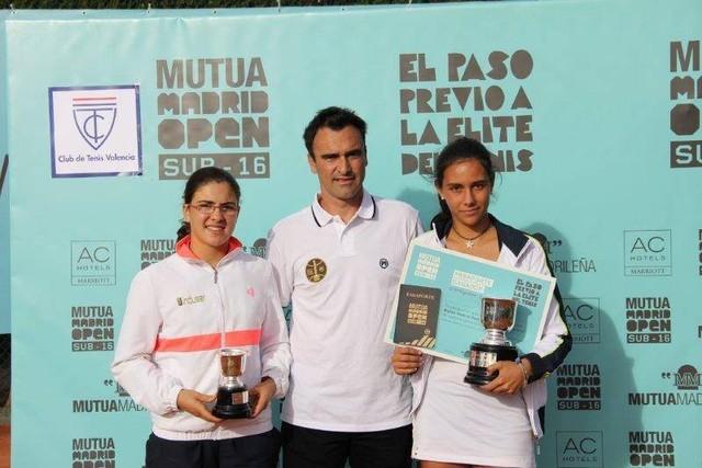 Ana Marhuenda subcampeona del Mutua Madrid Open SUB 16