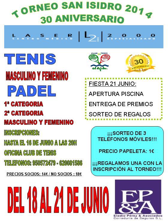 Torneo San Isidro 2014