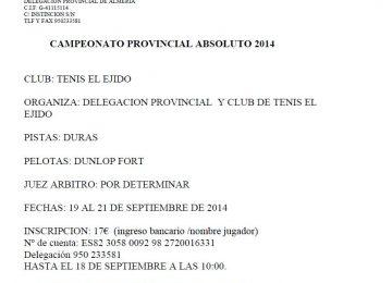 provincial absoluto 2014